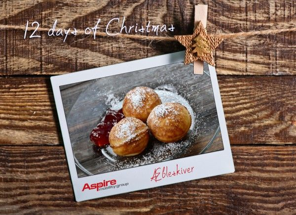 Day 6 Æbleskiver - Aspire Mobility GroupDay 6 - Æbleskiver Today Aspire Mobility Group along with all of our other divisions are celebrating the year with Æbleskiver and Gløgg. This is our tradition and we would like to share this with you. Please enjoy. Link to recipe also :)