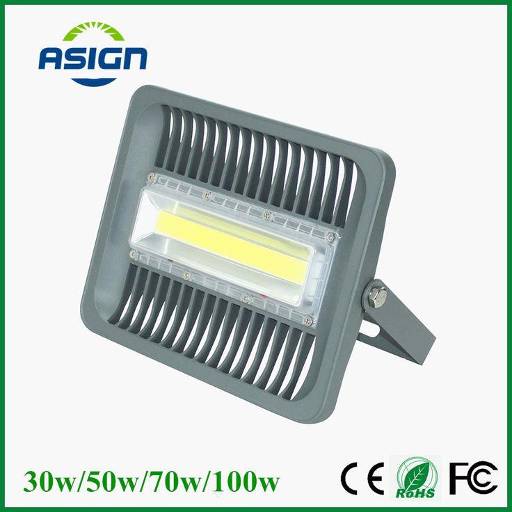 LED Banjir Cahaya 100 W 70 W 50 W 30 W Lampu Sorot IP66 Waterproof 220 V 110 V DIPIMPIN Sorotan Refletor DIPIMPIN Luar Pencahayaan Lampu Gargen