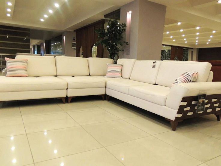 Chaise Sectional Leather Lounge