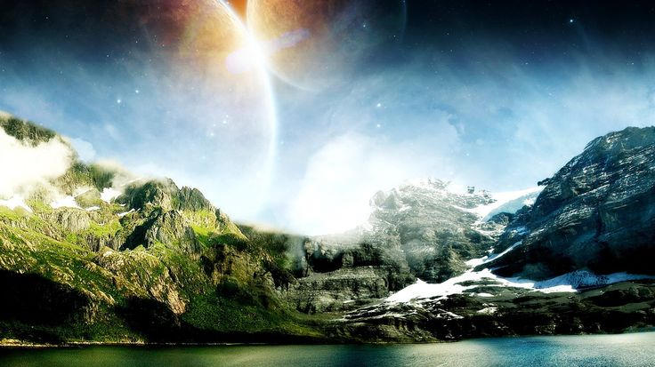HD Widescreen Landscape Wallpapers #27 - 1366x768 Wallpaper