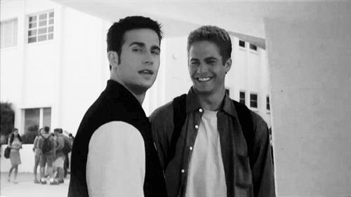 11 of Paul Walker's Best Smiles | 6. The '90s Throwback Smile