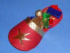 einen Schuh zum Nikolaus basteln
