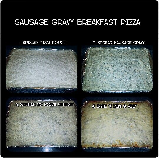 Easy Elementary School Breakfast Pizza~ Busy moms, this is a hit with kids of all ages. Don't forget to spray with cooking spray. Enjoy!