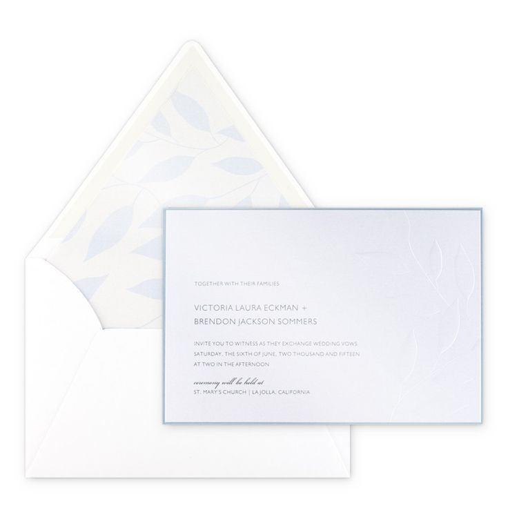 sister marriage invitation letter format%0A Laurel Invitation by Checkerboard