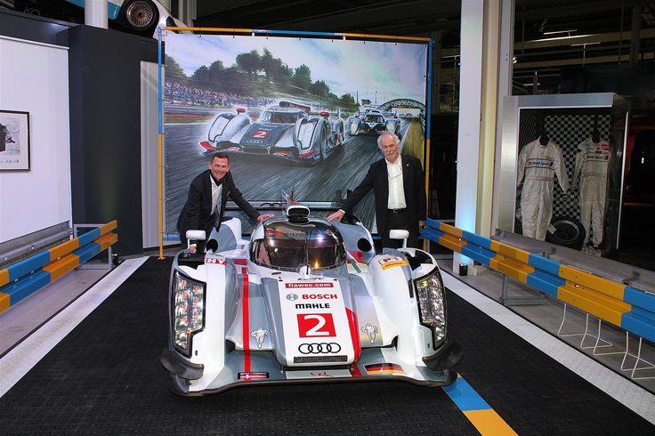 Audi in Le Mans - R18 Prototyp   AUTO & TECHNIK MUSEUM SINSHEIM