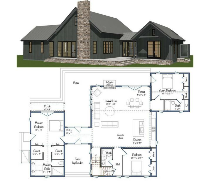 73 best barn home floor plans images on pinterest barn for Aging in place floor plans