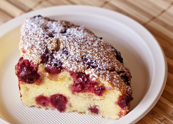 A great recipe for fast cake with lemon and sour cherries. This cake is ready in no time and eaten in no time :) A great dessert for your mo...