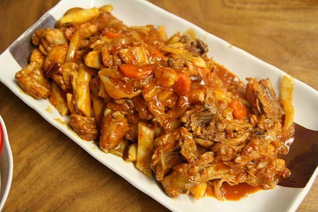 主婦料理企画・韓国料理を作ろう~タッカルビ編 タッカルビ おうちに韓国料理 レシピ 簡単韓国料理 鶏肉 ダッカルビ鶏カルビ