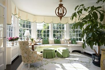 Sunroom Valance Styles Design Ideas, Pictures, Remodel and Decor