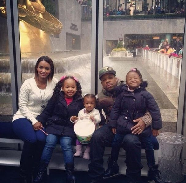 Michael Bivins and family