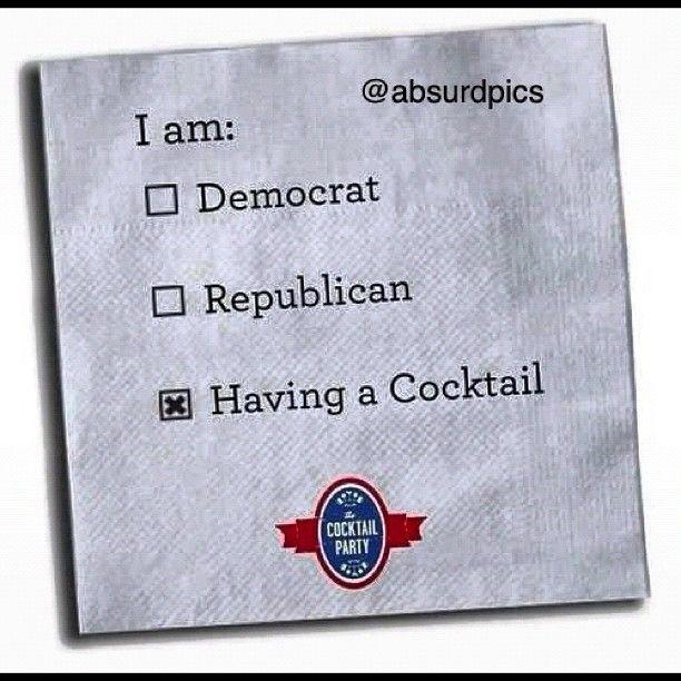 A cocktail sounds better! #democrat #republican #cocktail #obama #romney - http://absurdpics.com/funny/a-cocktail-sounds-better-democrat-republican-cocktail-obama-romney/