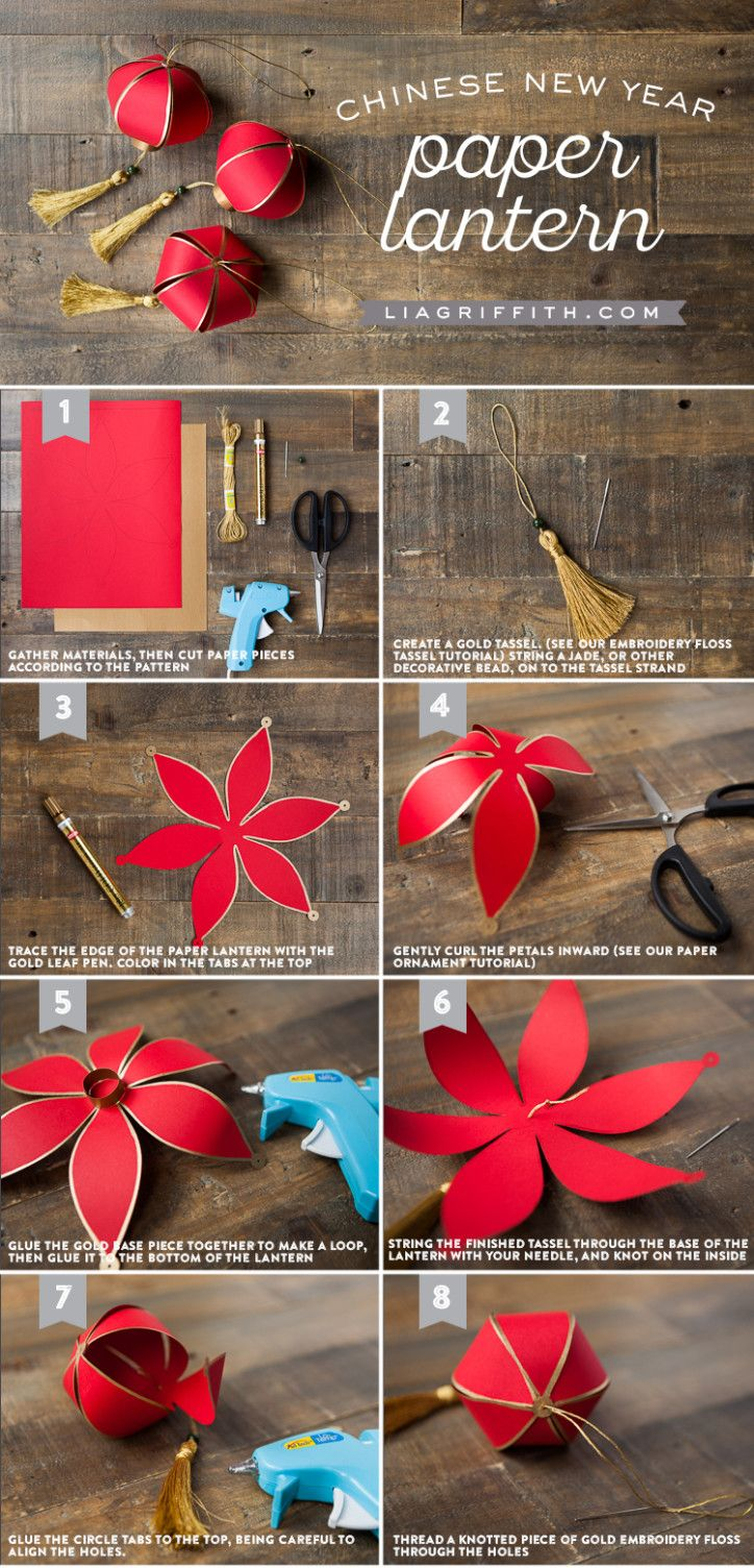 DIY Chinese New Year Paper Lantern