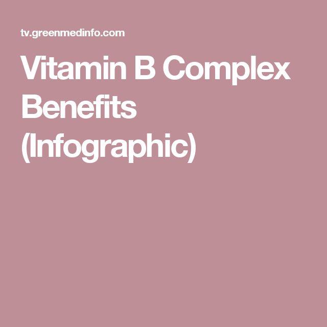 Vitamin B Complex Benefits (Infographic)