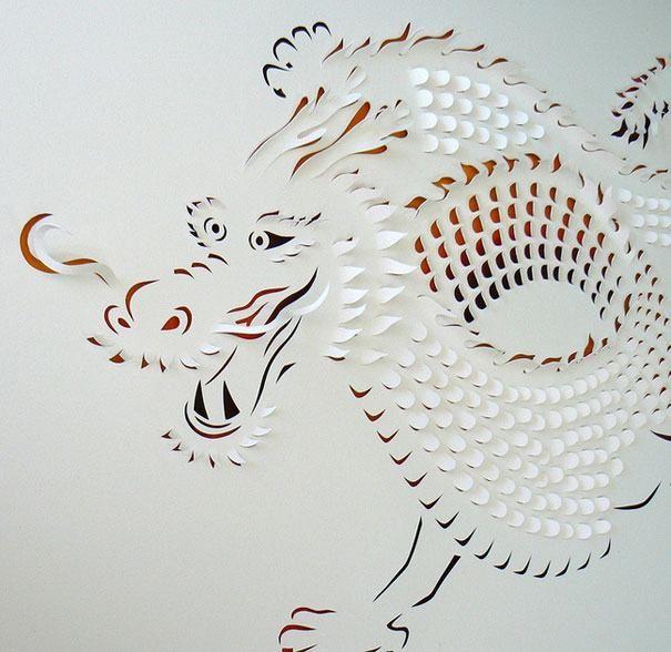 Arte en papel. Lisa Rodden