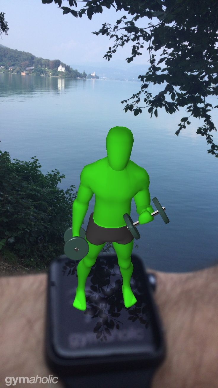 Take a #photo of#gymaholic #avatar and #share it with us! Show us where you are and which is your#favorite #exercise . Our photo was taken in #austria #kärnten #wörthersee .#augmentedreality #training #applewatch#applewatch2 #fitness