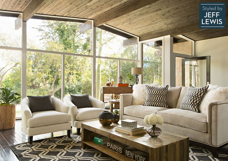 Living Spaces: Inventive Adaptation styled by Jeff Lewis