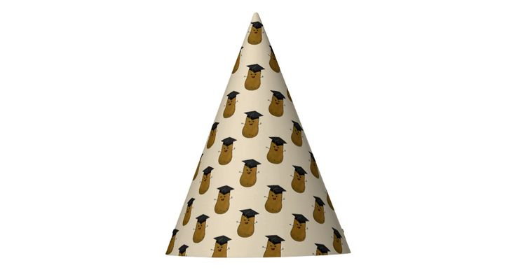 School Graduate Potato Party Hat