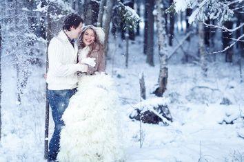 Winter wedding inspiration  Снежная нежность свадьба Ники и Вити