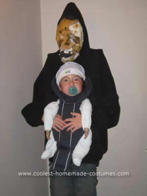 coolest homemade monster babysitter halloween costume - Aliens Halloween Costume Baby