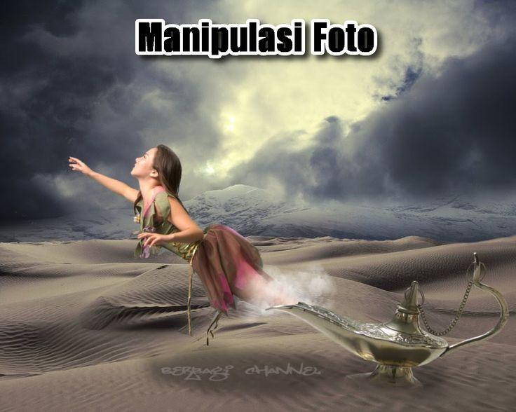 Tutorial Manipulasi Foto Magic Lamp Dengan GIMP