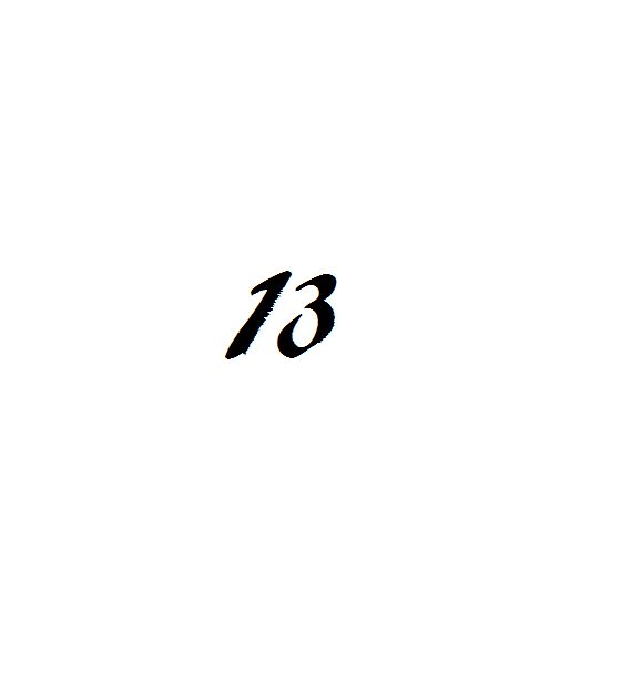 Getting the number 13 tattooed on my left ankle tomorrow, 04/13/2013!  My favorite number done on Friday 13th!!! My third tattoo, 2 more to go!!! Belinda
