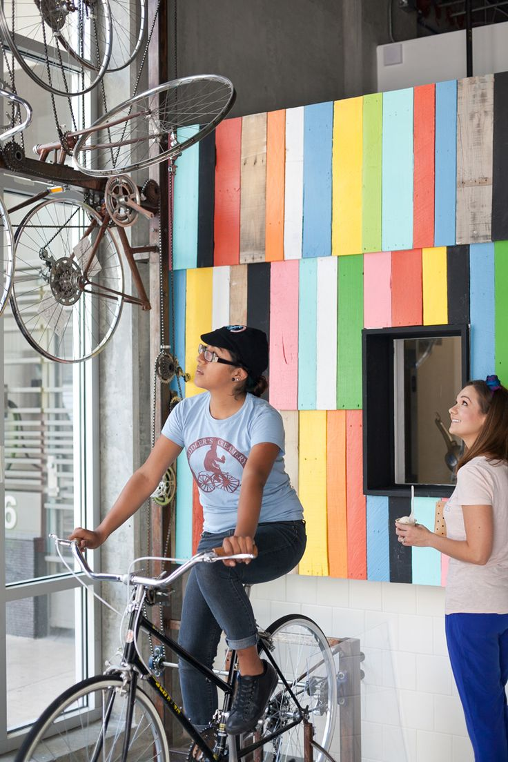Bicycle Churned ice cream at Peddler's Creamery Downtown LA | Freutcake photo by Joanne Pio
