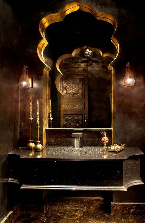 Exotic Moroccan Bathroom Vanity More