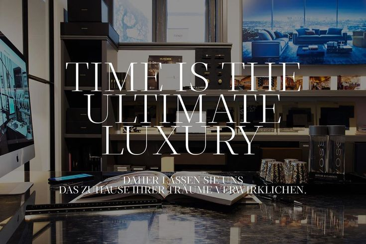 Zeit ist der ultimative Luxus – Lassen Sie uns das Zuhause Ihrer Träume planen und erschaffen. #ich…