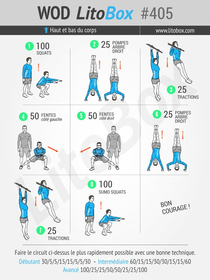 375 best programme musculation litobox images on pinterest - Programme musculation haut du corps ...
