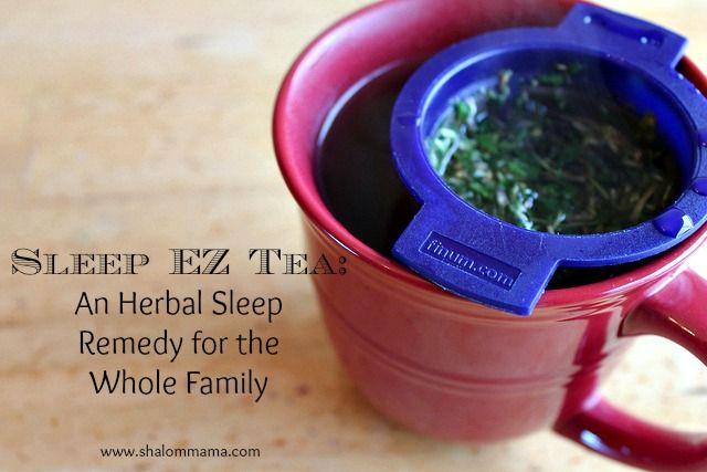 Sleep EZ Tea: An Herbal Sleep Remedy for the Whole Family