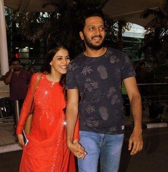 Cuteness Alert: Riteish Deshmukh and Genelia D'Souza teasing each other on Twitter : MagnaMags