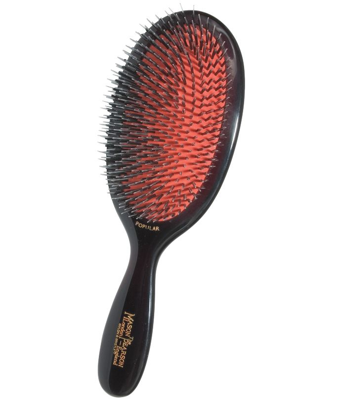 5 Reasons Hairstylists are Obsessed with the Mason Pearson Hairbrush from InStyle.com
