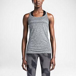 Женский топ для бега Nike Dri-FIT Knit