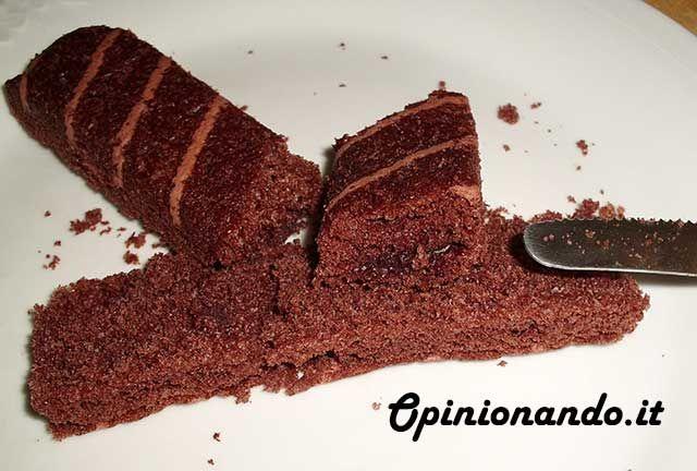 Ferrero Brioss Cacao magro e cereali Brioche tagliata  - #recensione #opinionando