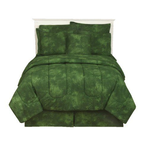"""Rain Forest Green - Comforter - Twin by All Seasons Bedding. $69.99. Shams, bedskirt, pillows, and other accessories also available.. Part of the """"Tropical Coolers"""" Mix and Match Bedding Collection.. Comforter Only. All other products are sold separately.. Fabric is reactive dyed for superior softness and color retention.. Comforter is 100% Cotton - 250 Thread Count.. Comforter is 100% Cotton - 250 Thread Count. Fabric is reactive dyed for superior softness and color retent..."""