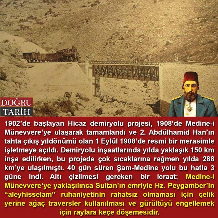 """Sultan 2. Abdülhamid Han'ın Peygamber Efendimize """"aleyhisselam"""" olan hürmeti ve saygısı... #OsmanlıDevleti"""