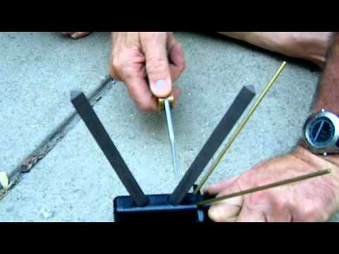 How to sharpen edged tools like knives, axes, and …