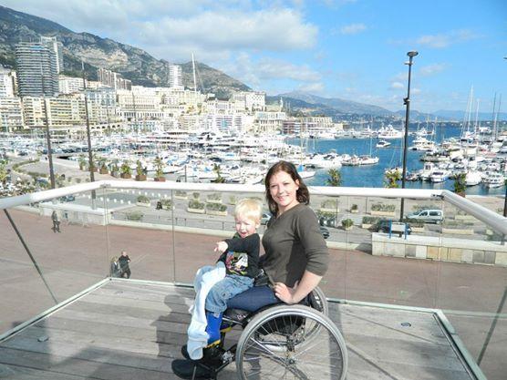 Monaco with my Baby!