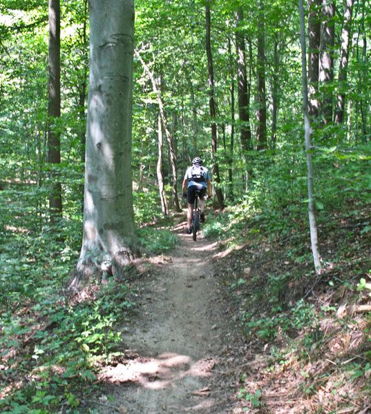 Rosaryville State Park | Mountain Bike Trail Maps, MD
