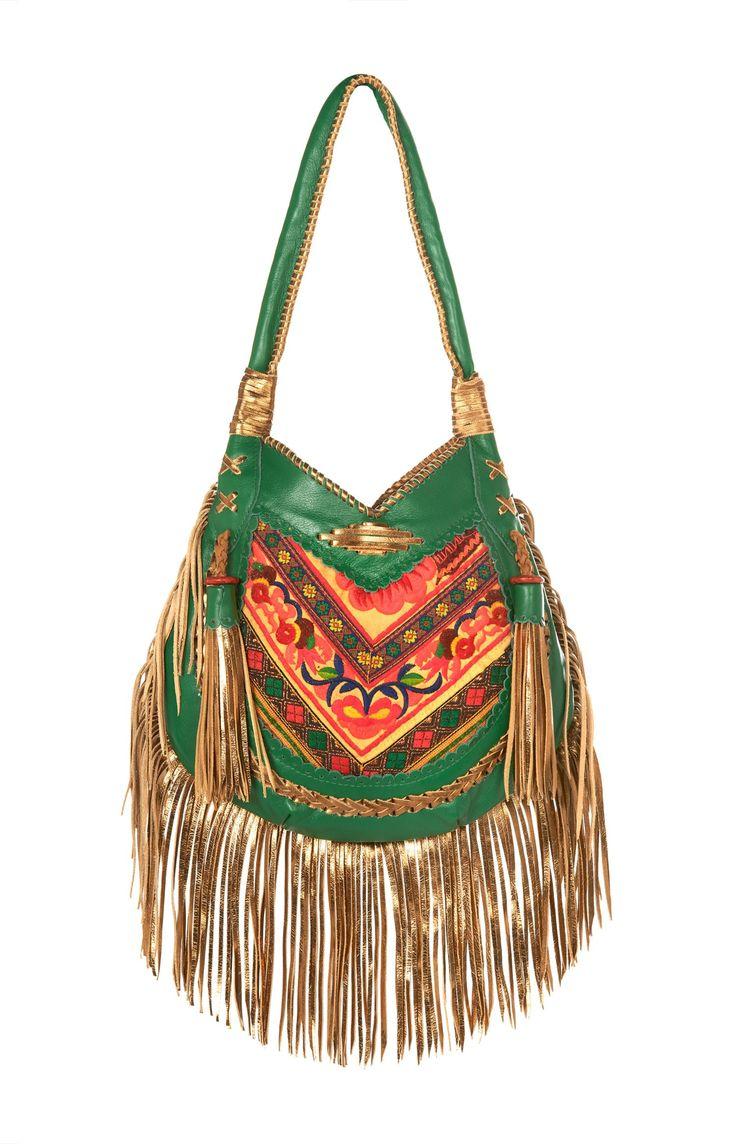 golden green boho bag                                                                                                                                                                                 Más