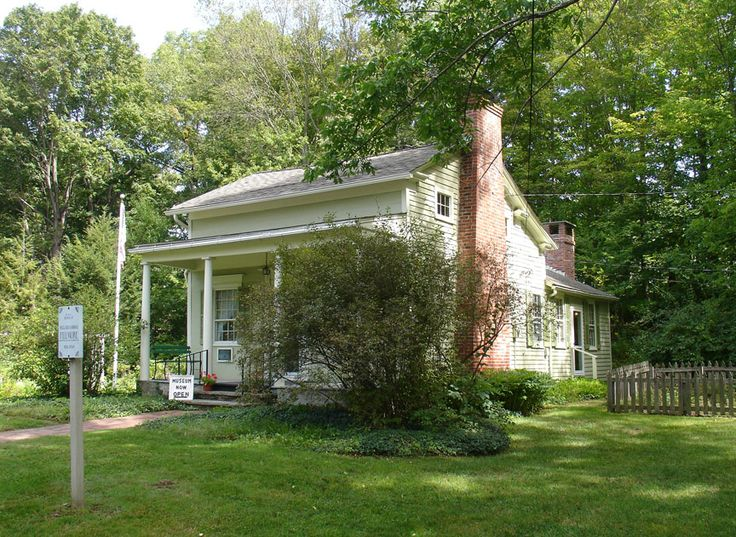 President Millard Fillmore's House, Now a Museum, in East Aurora, New York