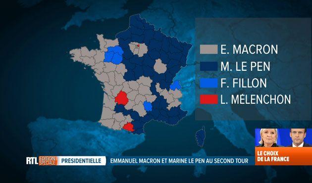 Pour nous aider à décrypter les résultats du second tour, le politologue Pascal Delwit était l'invité du RTL INFO 13H ce lundi. Une carte indique quel candidat est arrivé en tête dans chaque département. On a vraiment l'impression que la France est aujourd'hui...
