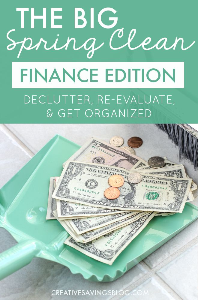 Spring is the perfect time to simplify, organize, and set yourself up for financial success for the rest of the year. These 7 steps help you clean and spruce up your finances from start to finish!