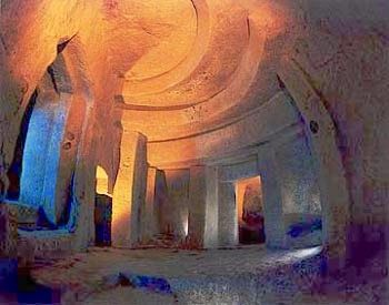 According to a report at phys.org  a unique acoustic attribute within a 5,000 year old mortuary temple on the island of Malta produces two...