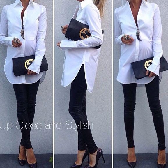 Uma legging, um camisão e muita personalidade!!!