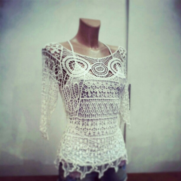 new collection spring summer 2013: openwork mesh also available in many other colors  #madeitaly #style #fashion