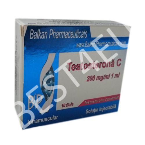 Buy Testosterona C (Testosterone Cypionate) 200mg/ml. (10 amp.) BALKAN PHARMA