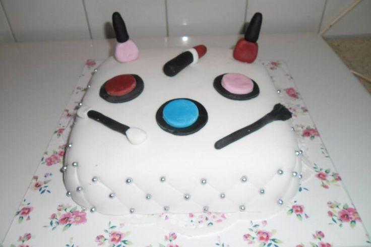 make up  taart