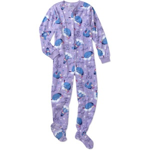 Women S Plus Character Footed Pajamas 22 Plus Size