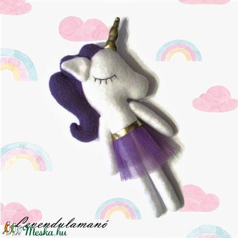 Unicorn plush in tull skirt #unicorn #magic #plush #DIY #Handmade